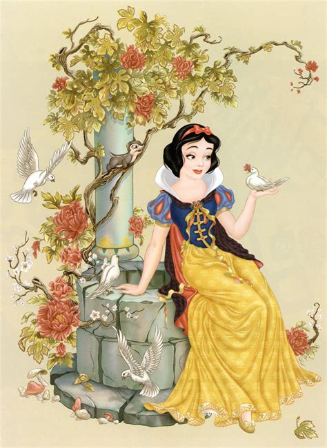 painting snow white filmic light snow white archive the of the disney