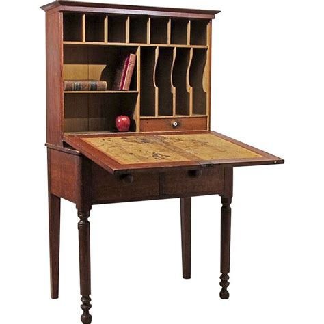 Drop Front Desk Plans by Drop Front Writing Desk Plans Woodworking Projects Plans