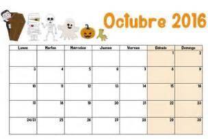 Calendario De Octubre Octubre 2016 Calendario Escolar 2016 2017 Para Imprimir