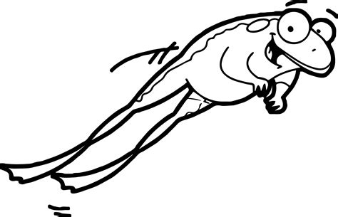 jumping frog coloring page frog color pages455446 jumping frog coloring pages