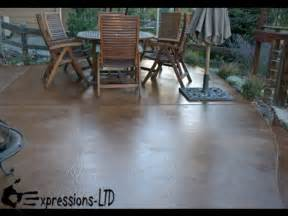 How To Acid Stain A Concrete Patio Floor Youtube