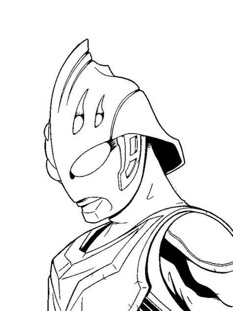 Gambar Mewarnai Ultraman Terbaru | gambarcoloring