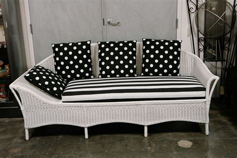 wicker sofa bed deco wicker sofa day bed at 1stdibs
