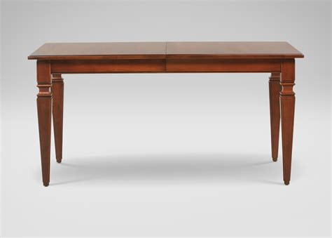extension dining room table avery small extension dining table ethan allen