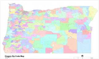 zip code map of image gallery oregon zip code
