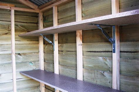 Wood Shed Shelves by Storage Shed Shelving Plans 187 Shed Plan Project Shed Organization Outdoor