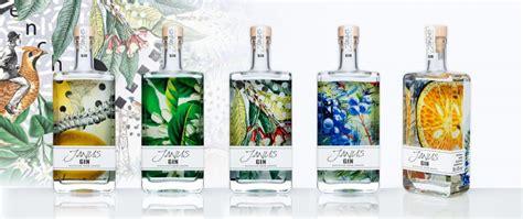 janus design label janus gin packaging design self promotion by linea