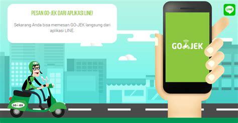 Informasi Pesan Lewat Go Kilat cara pesan gojek melalui aplikasi line gadgetren