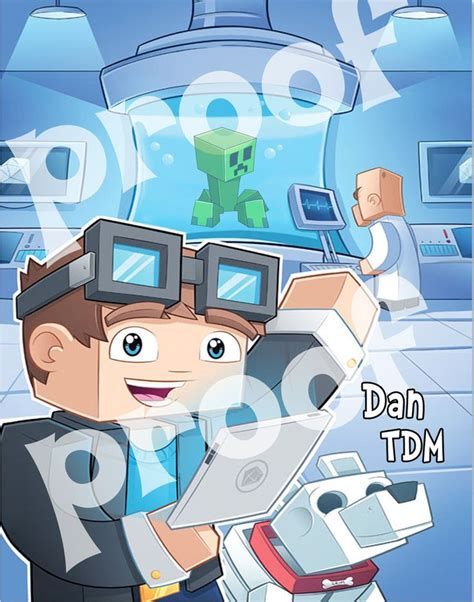 printable minecraft poster printable dan tdm poster the diamond minecart kids and