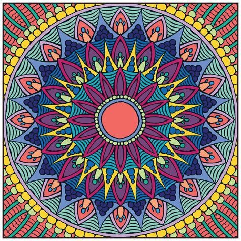 mandala colors im 225 genes con mandalas de colores