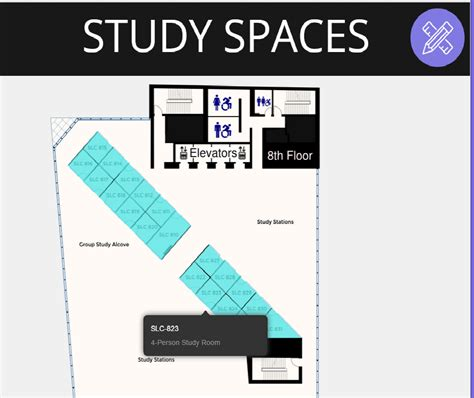 study room floor plan february 2015 ryerson university library archives