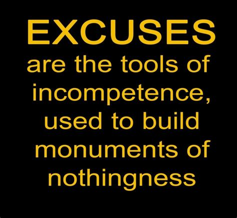 Quotes No 2 no excuses quotes no excuses sayings no excuses