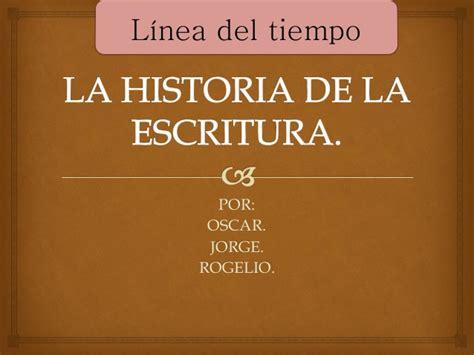 linea de tiempo de la historia de la psicologia linea del tiempo historia de la escritura