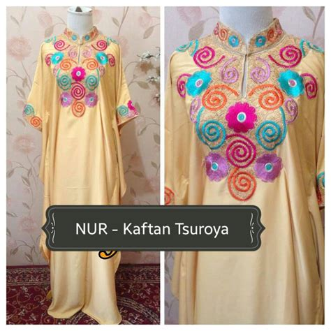 Dress Tukul Alvaro kaftan pesta tsuroya by alvaro outlet nurhasanah outlet baju pesta keluarga muslim
