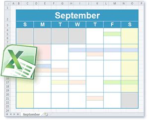 calendar template in excel 2003 calendar and schedule templates