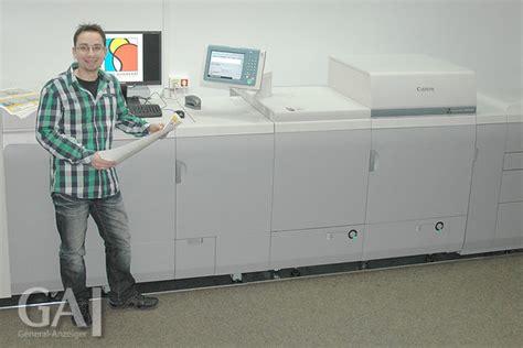 Digitaldruck Operator by Ostendorp Druck Investiert Kr 228 Ftig General Anzeiger