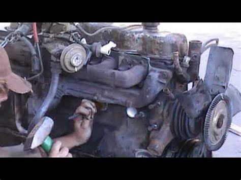 how to replace freeze plugs youtube