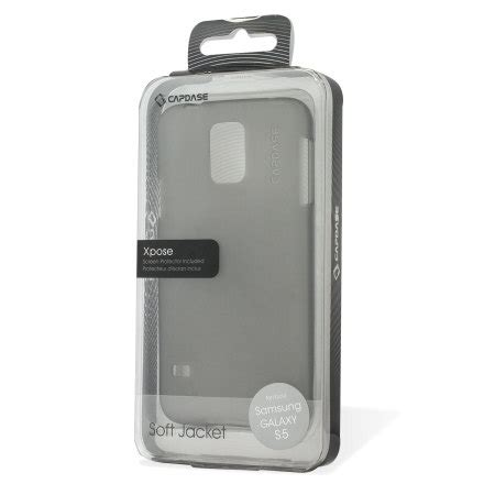 Capdase Soft Samsung Galaxy S5 Sjsgs5 P2 capdase soft jacket xpose samsung galaxy s5 tinted black mobilezap australia