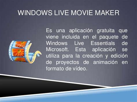 windows live movie maker windows live movie maker