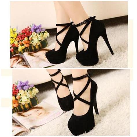 Tas Paket Sepatu 5in1 Tas Wedges Boot Sandal 5 In 1 Pita Diora jual shh608 black sepatu heels pum suede 11cm grosirimpor
