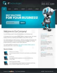 Free Business Html Templates 10 Free Html Website Templates For Business
