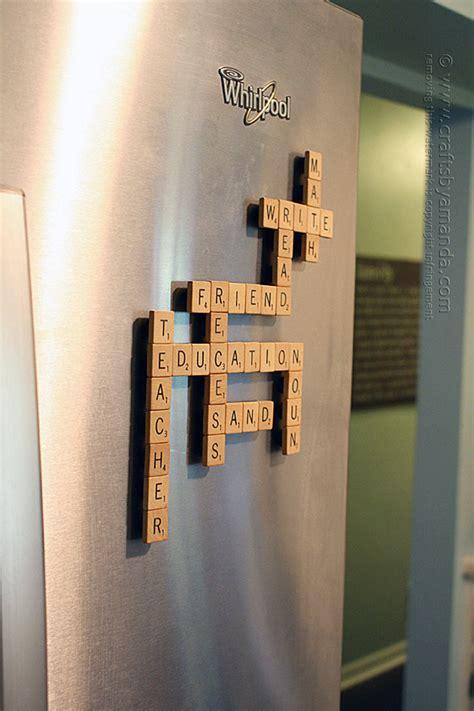 things to make with scrabble tiles 25 diys using scrabble pieces