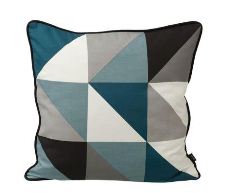 housse de coussin pour canapé 60x60 coussin remix 50 x 50 cm bleu p 233 trole gris blanc