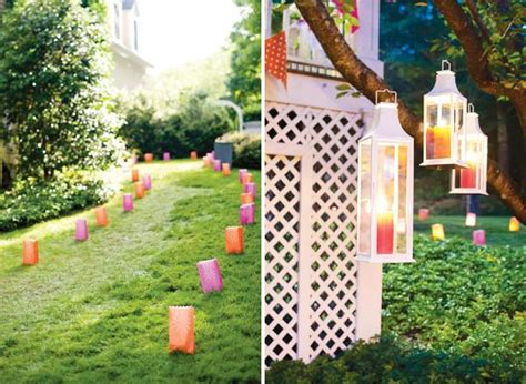 how to decorate my backyard for a party summer backyard party decor inspiration