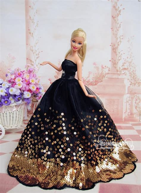 barbie gown design barbie bride dolls new black for barbie wedding dress