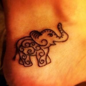 bridgette b tattoo elephant