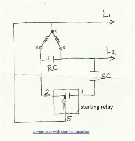 refrigerator wiring diagram compressor 38 wiring diagram