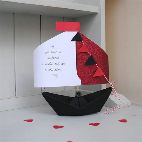 Boathouse Gift Card - valentine s personalised boat card gift by the little boathouse notonthehighstreet com