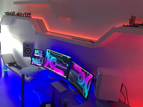 best 25 gaming room setup ideas on computer