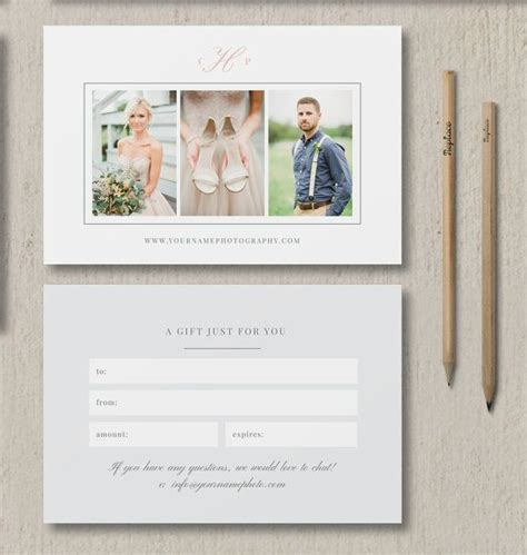 Cheap Photo Cards Templates by 25 Best Ideas About Gift Voucher Design On