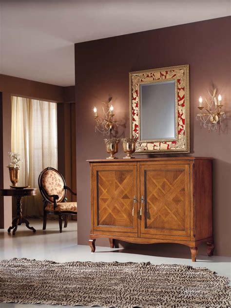 credenza classica legno massello credenza classica in legno massello con intarsio colore
