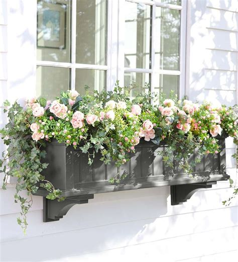 deck window boxes best 10 deck planters ideas on garden privacy