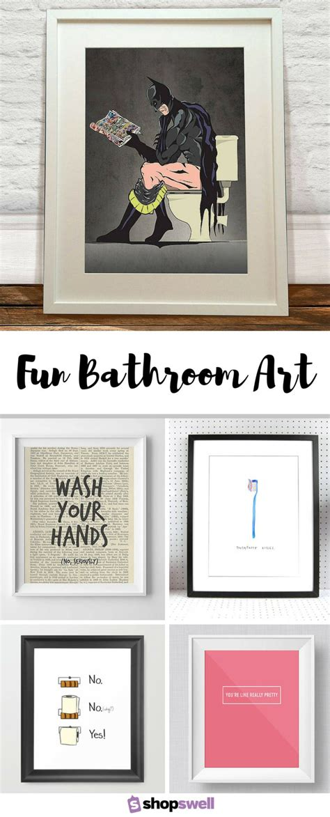 funny bathroom accessories 25 best ideas about wall art for bathroom on pinterest