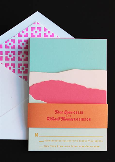 Colorful Wedding Invitations by Colorful Wedding Invitations Www Imgkid The Image