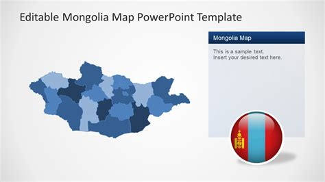 mongolia map powerpoint template slidemodel