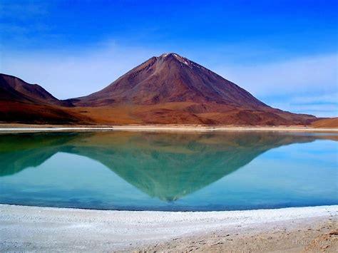 Nature Duvet Cover Quot Volcano Reflection Laguna Verde Quot By Honor Kyne Redbubble