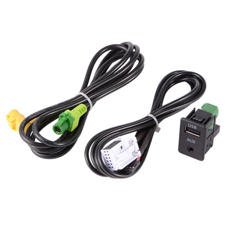 USB Aux Switch Wire Cable Audio Input Adapter 3.5mm Jack for BMW E87 E90 AC516   eBay