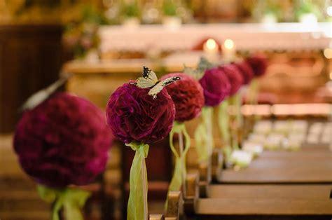 Tischdeko Hochzeit Fuchsia by Braut11082012