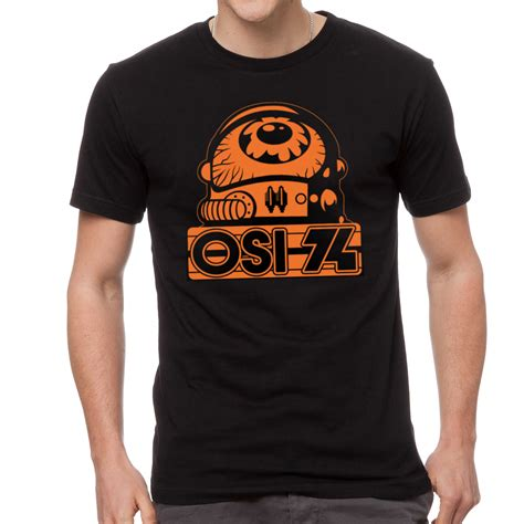 Kaos Baju T Shirt Pacific osi 74 shirt new orange and black t shirt osi 74