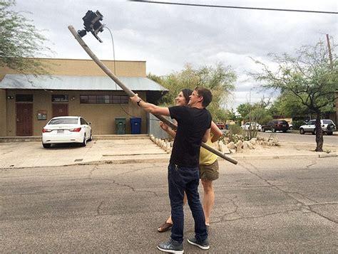 large format behold a selfie stick for large format cameras
