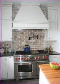 brick tile kitchen backsplash brick tile backsplash home design ideas brick tile