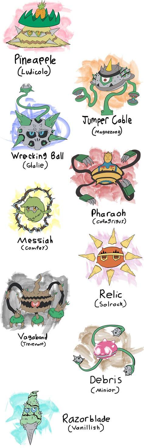 502 best pokemon variations images on pinterest pokemon