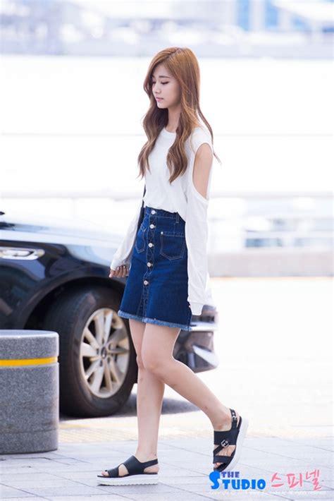 Summer Tzuyu tzuyu airport fashion official korean fashion