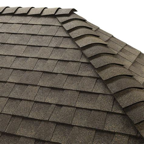 gaf z ridge weathered wood hip and ridge shingles 33 3