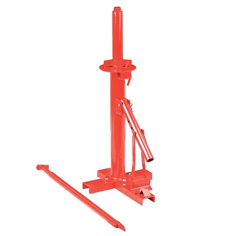 sealey manual tyre changer incorporates manual bead