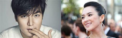 zhang ziyi korea lee minho receives love call from zhang ziyi for upcoming film